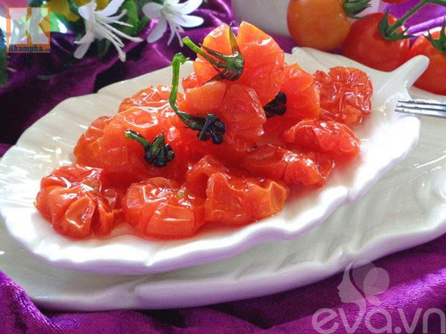 Cách làm mứt cà chua bi dẻo ngon, thơm ngọt - 8