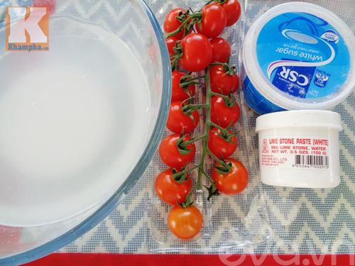 Cách làm mứt cà chua bi dẻo ngon, thơm ngọt - 1