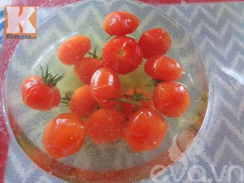 Cách làm mứt cà chua bi dẻo ngon, thơm ngọt - 3
