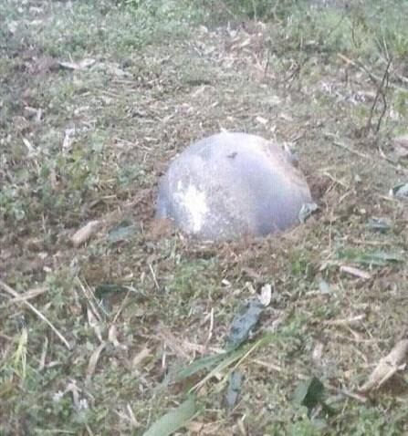vật thể lạ rơi xuống Tuyên Quang - 2
