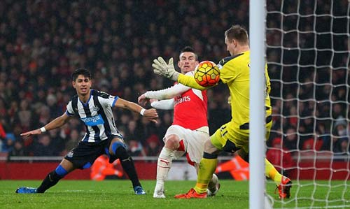 video arsenal vs newcastle - 1