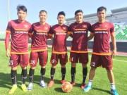 Bóng đá - U23 Việt Nam tập nhẹ trên đất Qatar