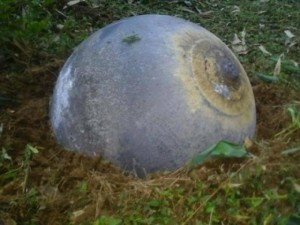 Tin tức trong ngày - Vật thể hình cầu có ký tự lạ rơi xuống Tuyên Quang là gì?