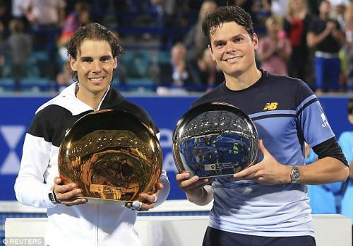 Nadal - Raonic: Quà tân niên ý nghĩa (CK Mubadala) - 1