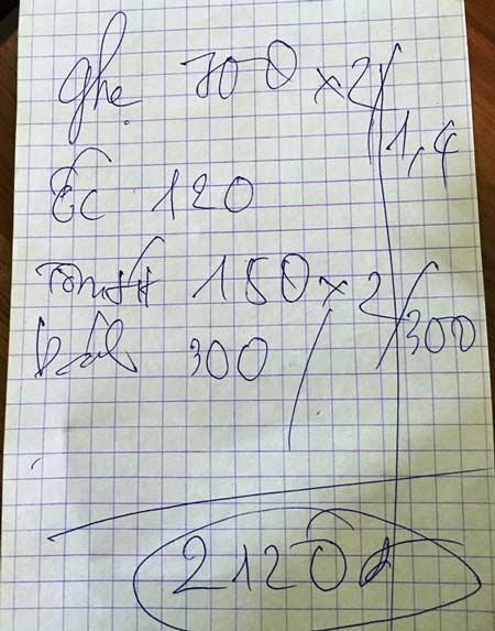 Con ghẹ ở Vũng Tàu giá... 700.000 đồng - 2