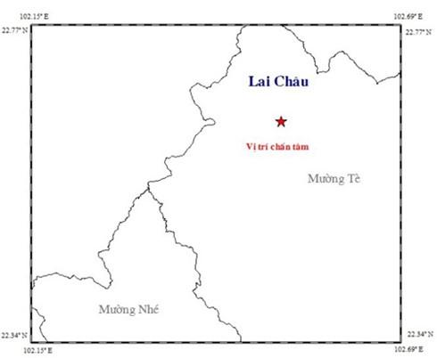 Động đất 3,3 độ Richter tại Mường Tè, Lai Châu - 1