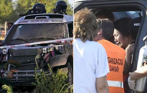 Dakar Rally: Tay đua nữ gây tai nạn nghiêm trọng - 1
