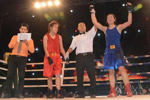 Lừu Thị Duyên giữ được đai vô địch - 1
