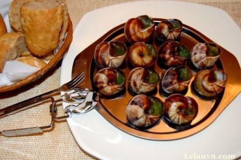 Những món ngon từ ốc sên - 3