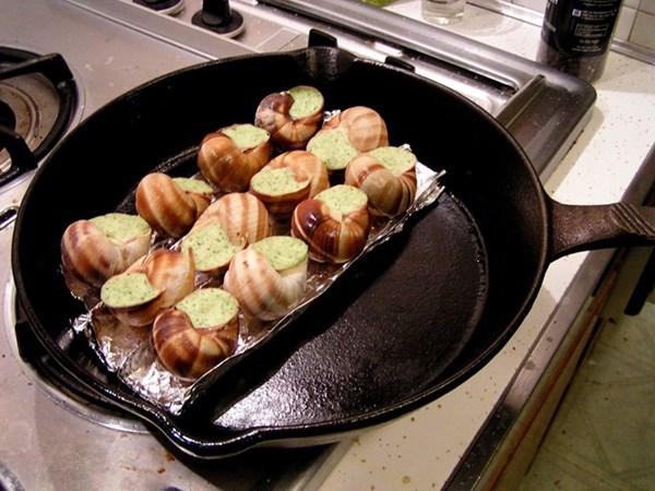 Món ốc sên mê hoặc trong ẩm thực Pháp - 6