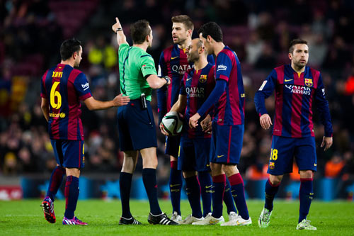 "Sốc: Messi bị trọng tài ""dằn mặt"" trận gặp Espanyol - 1"