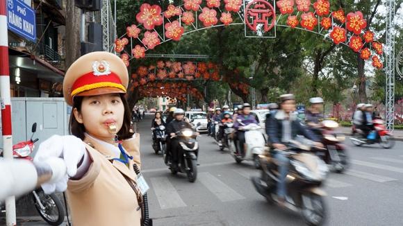 Thông tin mới về phân luồng giao thông tại Hà Nội - 1