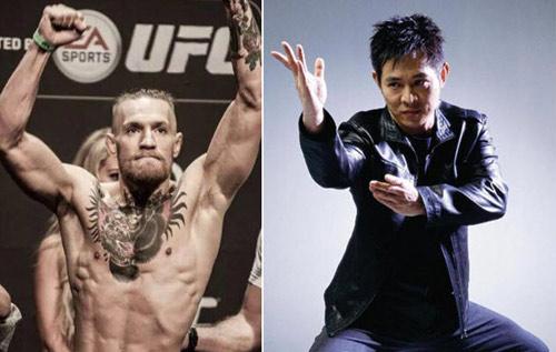 """""""Gã điên"""" UFC sắp đối đầu với Lý Liên Kiệt - 1"""