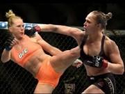 Thể thao - BXH UFC 4/1: Rousey thua trận vẫn đứng trên Holm