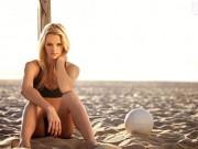 Thể thao - Ngất ngây với vẻ đẹp của mỹ nữ bóng chuyền bãi biển