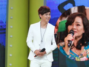 Hồ Quang Hiếu lần đầu khoe mẹ trên sóng truyền hình