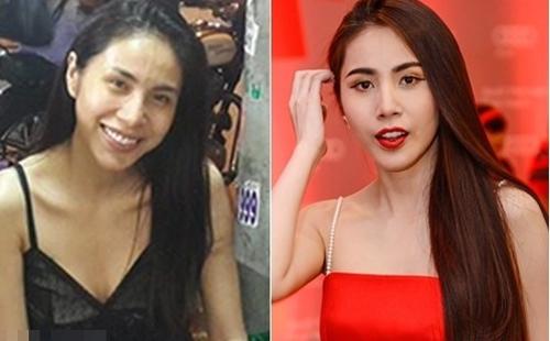 Nhan sắc của mỹ nhân Việt sau lớp trang điểm và photoshop - 1