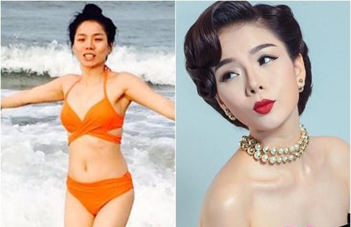 Nhan sắc của mỹ nhân Việt sau lớp trang điểm và photoshop - 3