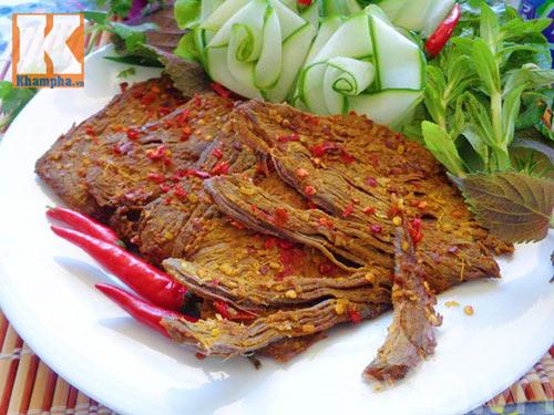 Làm thịt bò khô để dành ăn Tết - 7