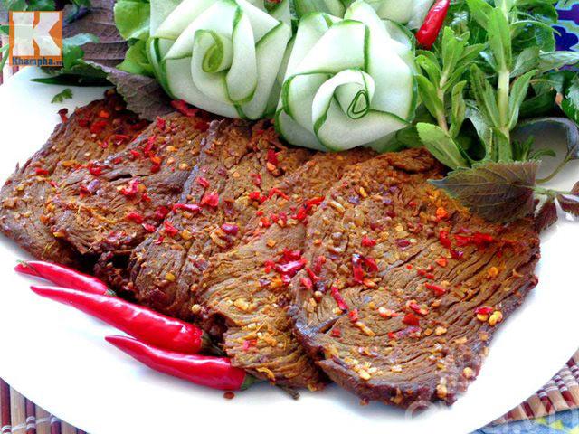 Làm thịt bò khô để dành ăn Tết - 6