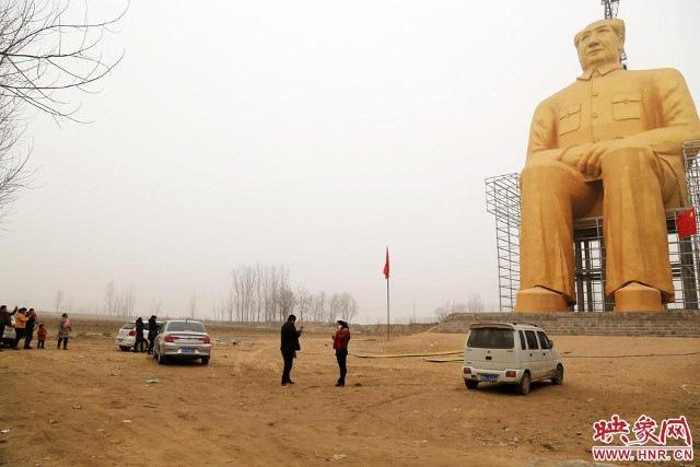 Trung Quốc xây tượng Chủ tịch Mao cao 37m - 2