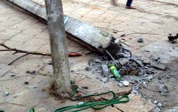 Sẽ khởi tố vụ cột điện đổ đè chết học sinh ở Lạng Sơn - 1