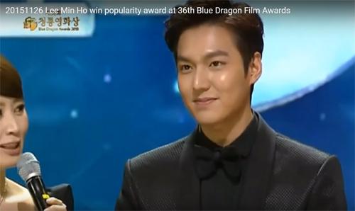 Top 10 sự kiện đáng nhớ của Lee Min Ho trong năm qua - 10