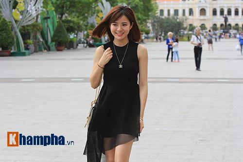"""Hotgirl MU Tú Linh: """"Công Phượng, cầu thủ tôi yêu mến nhất"""" - 1"""