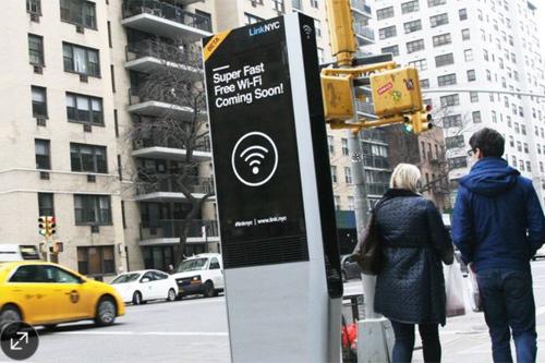 500 cột điện thoại tại New York sẽ chuyển thành cột phát Wi-Fi - 1