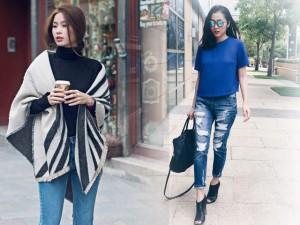 Cách lựa quần jean tôn vinh nét hấp dẫn cho chị em