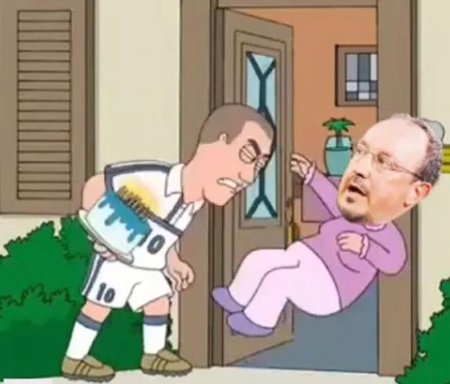 """Zidane dùng """"thiết đầu công"""" húc Benitez - 1"""
