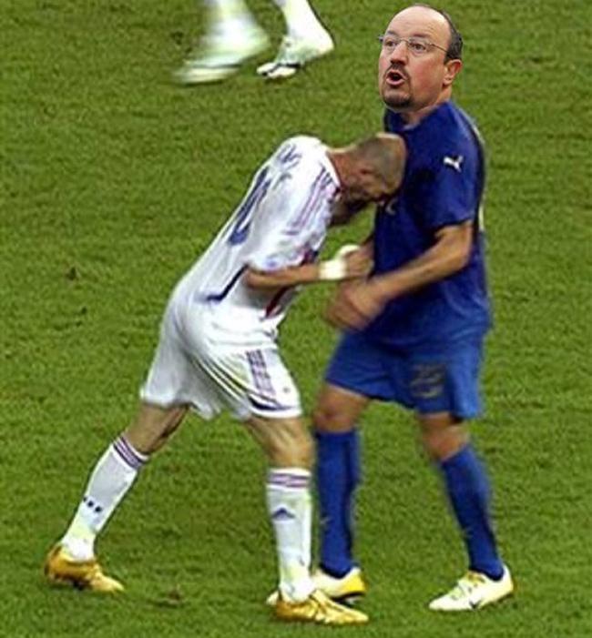 """Zidane dùng """"thiết đầu công"""" húc Benitez - 2"""