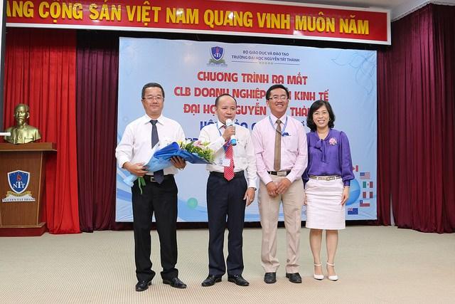 Ra mắt Câu lạc bộ doanh nghiệp khối kinh tế ĐH Nguyễn Tất Thành - 1