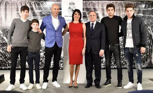"""Zidane nắm quyền & 1 thế hệ """"gia đình trị"""" ở Real - 1"""