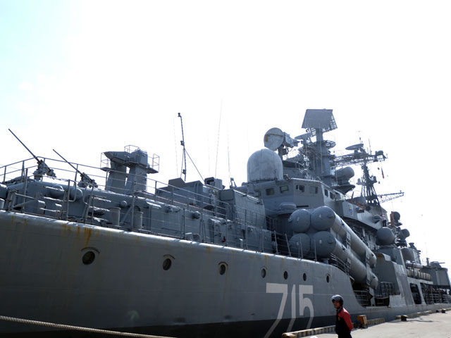 Cận cảnh tàu khu trục chống ngầm của Nga đến Đà Nẵng - 5
