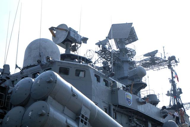 Cận cảnh tàu khu trục chống ngầm của Nga đến Đà Nẵng - 9