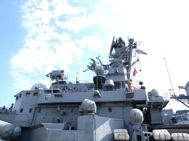 Cận cảnh tàu khu trục chống ngầm của Nga đến Đà Nẵng - 8
