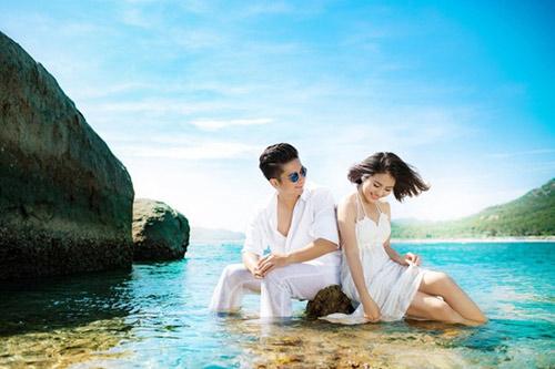 Lộ ảnh cưới đẹp như mơ của Vân Trang - 1