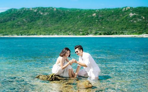 Lộ ảnh cưới đẹp như mơ của Vân Trang - 2