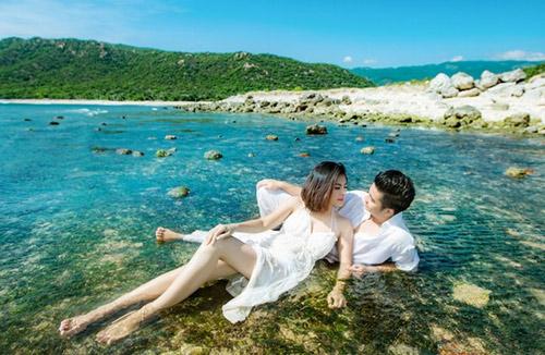 Lộ ảnh cưới đẹp như mơ của Vân Trang - 3