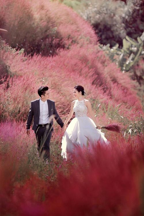 Lộ ảnh cưới đẹp như mơ của Vân Trang - 7