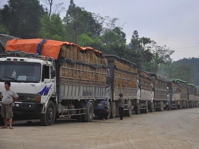 Biên giới Việt- Trung: Nhập hàng TQ tăng vọt, xuất đi giảm mạnh - 1