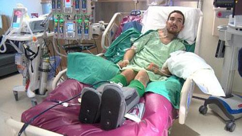 Sốc: Võ sĩ MMA bị cảnh sát đánh tàn phế - 1
