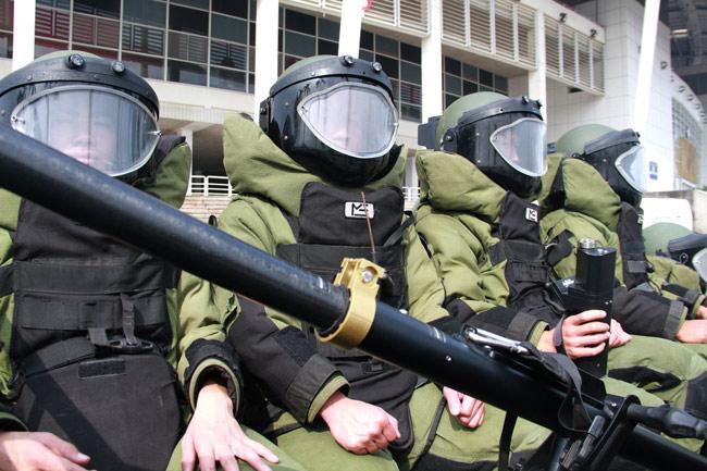 Ảnh: 5.200 chiến sĩ diễn tập bảo vệ Đại hội Đảng - 2