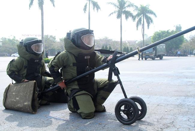 Ảnh: 5.200 chiến sĩ diễn tập bảo vệ Đại hội Đảng - 7