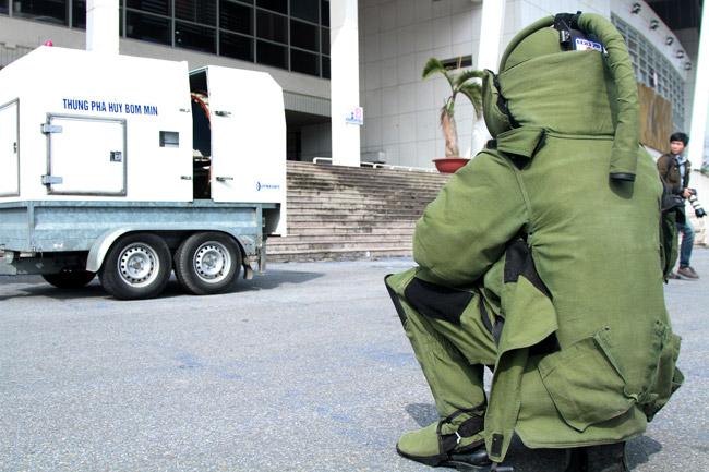 Ảnh: 5.200 chiến sĩ diễn tập bảo vệ Đại hội Đảng - 8