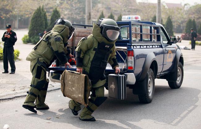 Ảnh: 5.200 chiến sĩ diễn tập bảo vệ Đại hội Đảng - 3