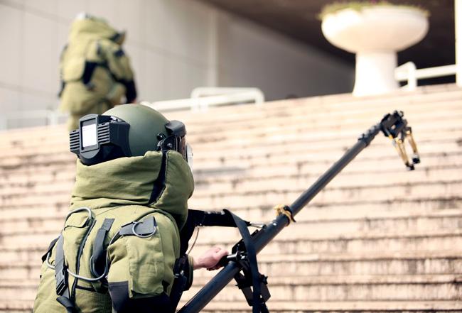 Ảnh: 5.200 chiến sĩ diễn tập bảo vệ Đại hội Đảng - 4