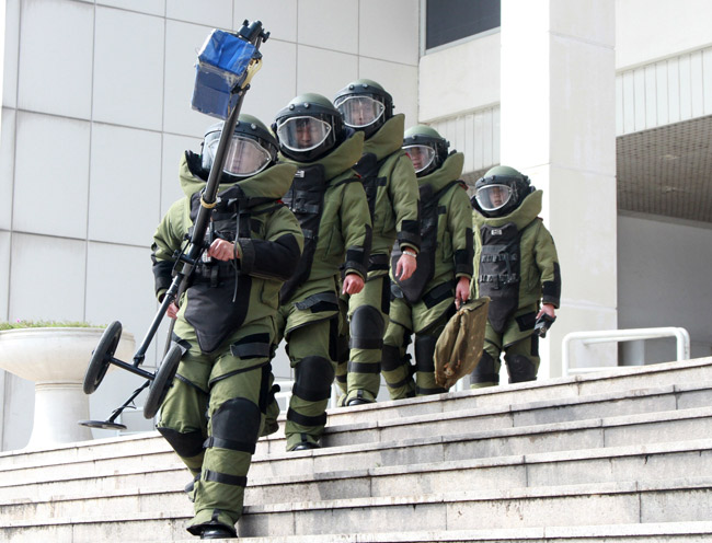 Ảnh: 5.200 chiến sĩ diễn tập bảo vệ Đại hội Đảng - 6