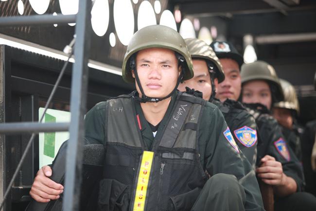 Ảnh: 5.200 chiến sĩ diễn tập bảo vệ Đại hội Đảng - 11